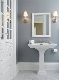 What Color To Paint A Bathroom Blue Gray Bathroom Colors - The boring white  tiles of