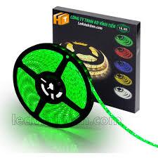 Đèn led dây 5050 12V có keo màu xanh lá, siêu sáng, Ledvinhtien.com