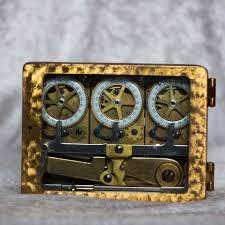 17 best ideas about vault doors safe vault safe triple clock vault door time lock 1930 sargent greenleaf rochester