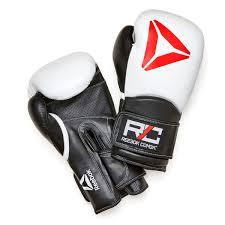 combat leather glove white