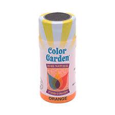 color garden. Color Garden - Single Bottle Orange Sugar Crystals