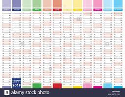 Year To Year Calendar Elegant Annual Planner For Year 2018 New 2018 Year Calendar In