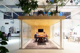 loft office. A Garden Is The Roof Of Meeting Room In Loft Office By Jvantspijker | News Archinect O