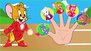 Tom and Jerry Avenger Finger Family Song - Tom and Jerry Cartoon Nursery  Rhymes Songs for Kids - YouTube
