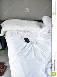 unmade bed side view.  Unmade Top View Of Unmade Bedding Sheets And Pillow Unmade Messy Bed After  Comfort Sleep Concept Throughout Unmade Bed Side View
