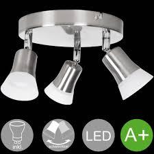 Design Deckenlampe Led Deckenspot Leuchte Chrom