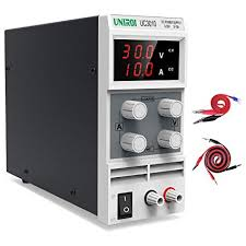 UNIROI DC Available Power Supply, 0-30V/0-10A <b>Adjustable</b> Power ...