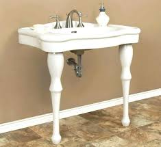 double console sink attractive parisian pedestal pottery barn for 1