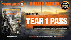 Editions Pre Order The Division 2 The Division Zone