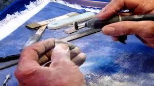 <b>Stone Carving</b> 101 - DIY hand <b>carved stone jewelry</b> charm using flex ...