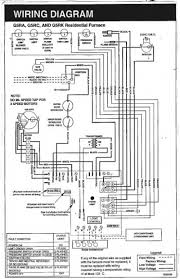 wiring diagram for to furnace the wiring single stage unit furnace full size