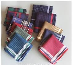 5pcs 10pcs novelty wedding gift dining table men handkerchief plaid handkerchiefs cloth clothes pocket square hanky 40cm in men s ties handkerchiefs from