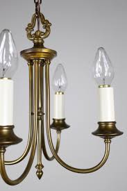 df1274 colonial revival candalabra fixture w candle arms 4 light
