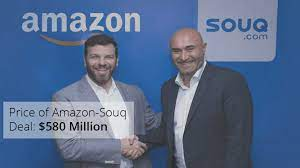 Souq.com was acquired for $580 million: Amazon's 2017 Q1 report to SEC