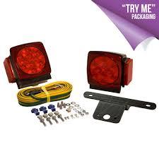 "c7423 led trailer light kits products blazer international c7423 led submersible square trailer light kit under 80"""