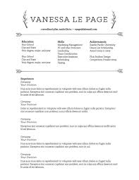 Achievements In Resume Wonderful 654 Resume Templates To Highlight Your Accomplishments