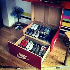 shoe box storage nike shoes custom