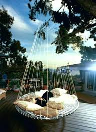 outdoor hanging bed hanging bed ideas summer 3 outdoor hanging bed plans