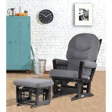 glider and ottoman set espresso dark grey reclining modern glider espresso dark grey reclining modern