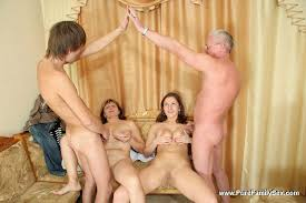 Mom dad daughter son orgy
