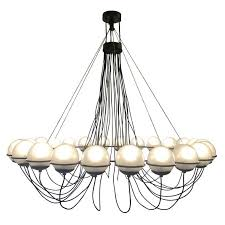 outstanding 24 light chandelier designed by gino sarfatti for arteluce in 1960 this is