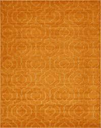 unique loom trellis frieze collection lattice moroccan geometric modern orange area rug 8 x 10