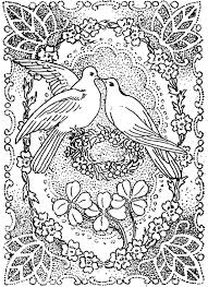 Small Picture Doves Kissing in Peace and Love Great for Valentines Day