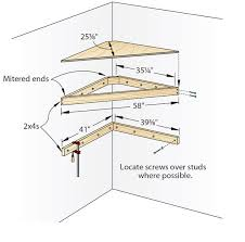 Building Corner Shelves Diy Corner Wall Shelf Small Corner Shelf Helps To Save Space 29