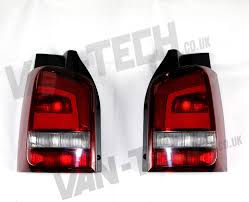 Caravelle Lighting Vw T5 Tail Gate Only Caravelle Replacement Rear Lights 2010