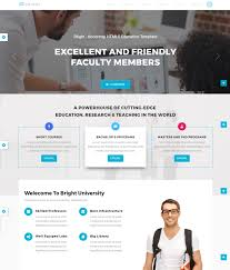Templates For Education 13 High Quality Educational Website Templates In 2017 For