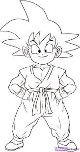 Small Picture Dragon Ball Z Son Goku And Friends Dragon Ball Z Coloring Pages