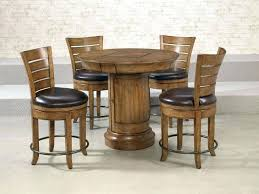 round pub style table and chairs coffee table set pub style table bistro table set bistro