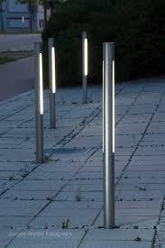 Beacon Lighting Tia V Cm Curved Exterior Bollard In Charcoal - Exterior bollard lighting