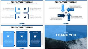 Blue Ocean Strategy Free Powerpoint Template