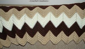 Double Crochet Ripple Afghan Pattern