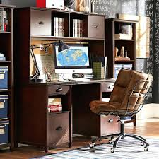 full image for small white desk with storage monarch slide out desk with storage drawers white