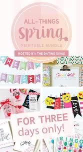 all things spring printables on home wall art dating divas with 27 spring printables you need while he was napping