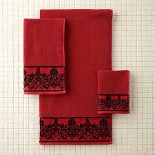 better homes and gardens bath towels. better homes and gardens red scroll decorative bath towel collection towels o