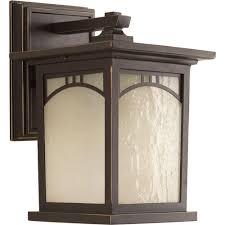 progress lighting residence collection 1 light antique bronze outdoor wall mount lantern
