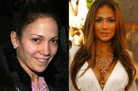 beautiful female celebrities without makeup jennifer lopez with without makeup