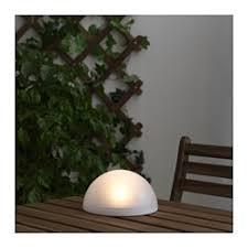 ikea outdoor lighting. SOLVINDEN LED Solar-powered Light, Half Globe Ikea Outdoor Lighting E