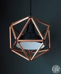 ikea lighting hack. ikea hacks wooden geometric pendant lighting hack