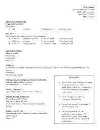 Apply Texas Resume Sample