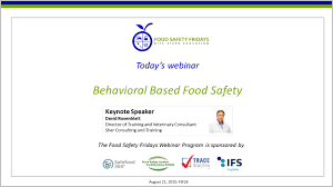 Behavioral Based Behavioral Based Food Safety Youtube
