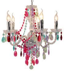 multi coloured jewel 5 light chandelier ceiling light forever furnishings