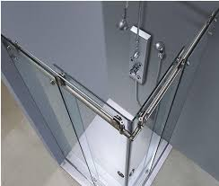 china self cleaning shower door glass clear float tempered glass easy cleaning supplier