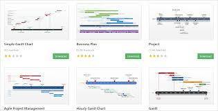 Chart Downloads Free Free Gantt Chart Templates For Powerpoint Presentations