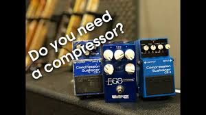 Do you need a <b>compressor pedal</b>? - YouTube