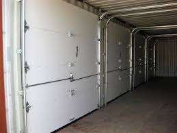 container insulated garage doors containers with insulated garage ...
