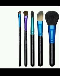 mac enchanted eve basic brush set kit foundation angle blush eye shadow blending ebay